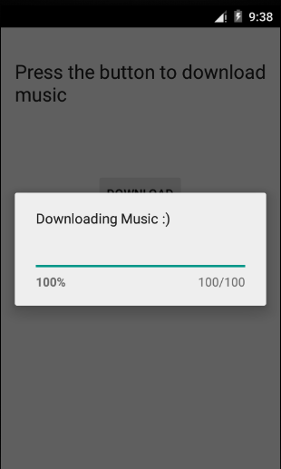 Android ProgressDialog - Android開發教程