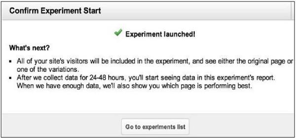 A/B測試運行實驗