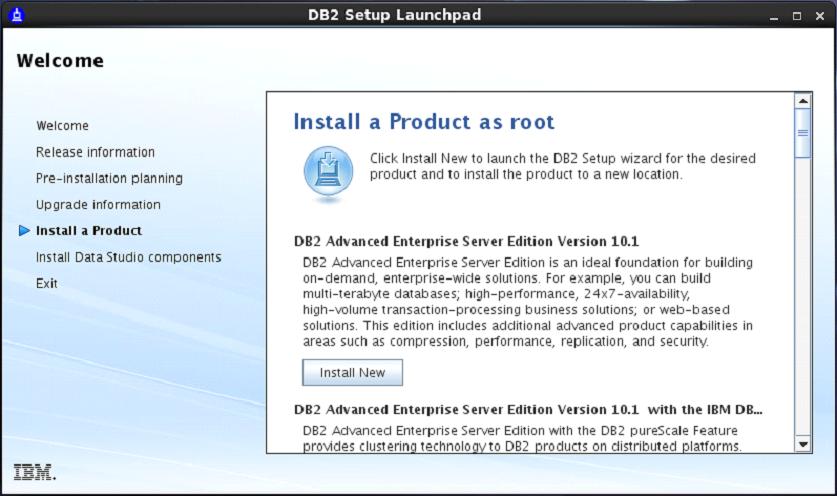 DB2 Server Setup
