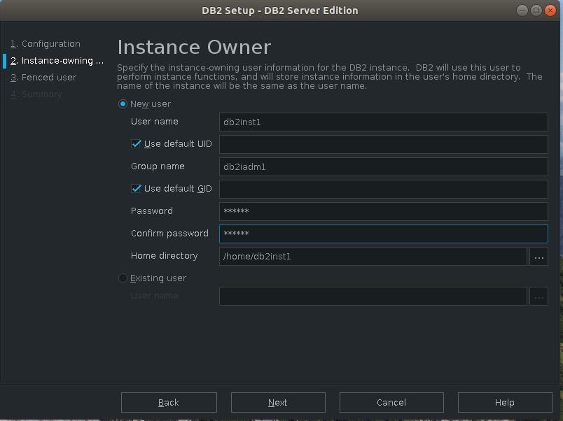 DB2數據庫安裝配置
