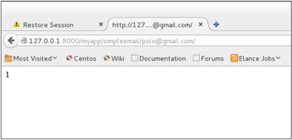 Django發送E-mail