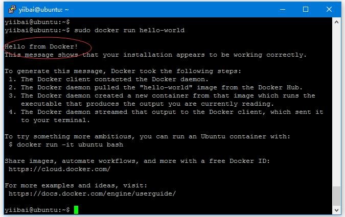 Docker安裝