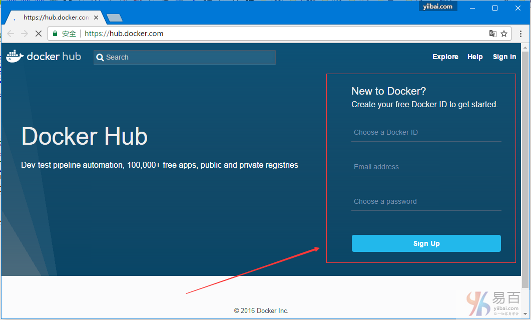 Docker推送存儲庫