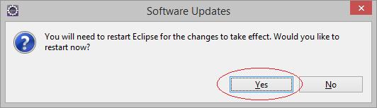 安裝e(fx)clipse到Eclipse