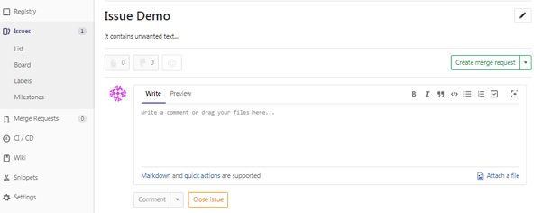 GitLab創建問題