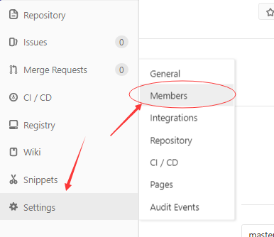 GitLab用戶權限
