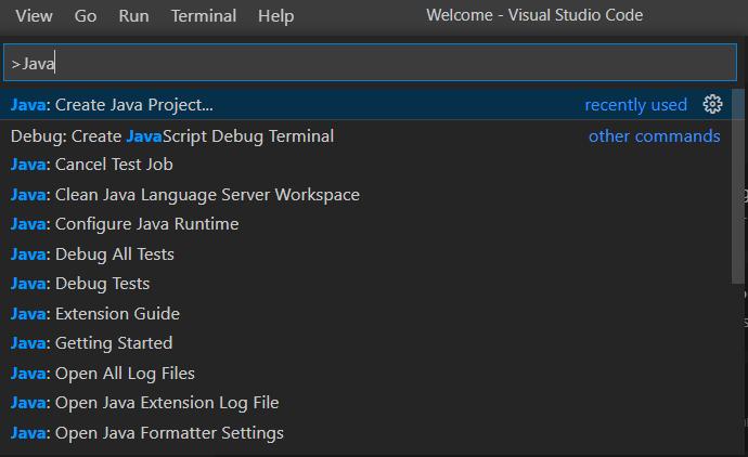 如何在Java中使用Visual