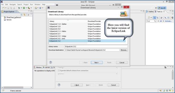 Download Library Dialog Box