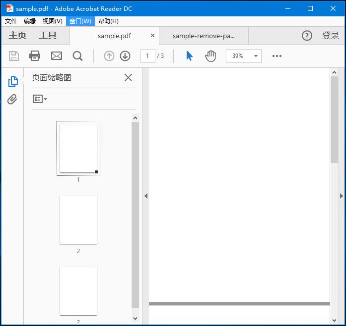 PDFBox刪除頁面