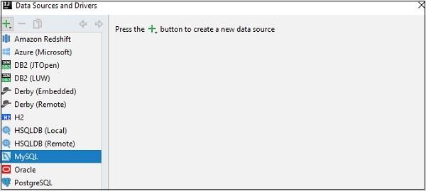 Pycharm數據庫工具