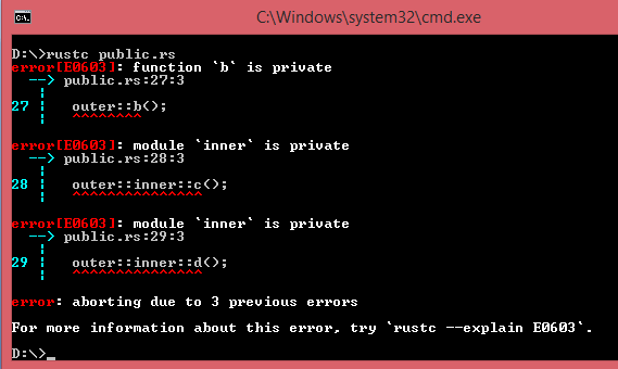 Rust公開函數