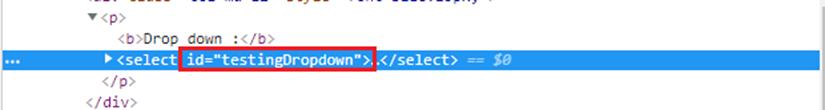 Selenium WebDriver處理下拉列表