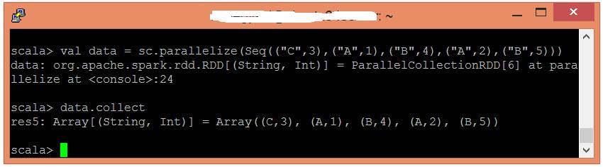 Spark groupByKey函數