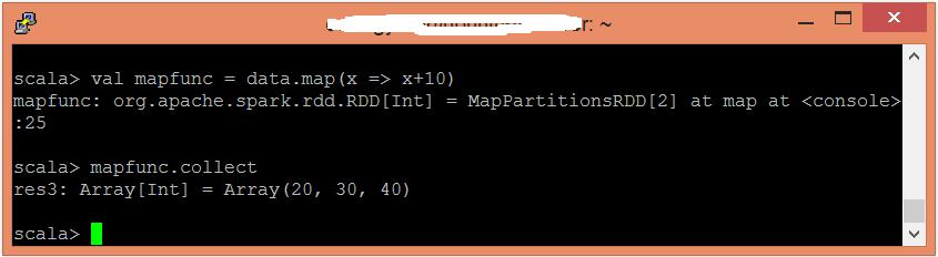 Spark Map函數