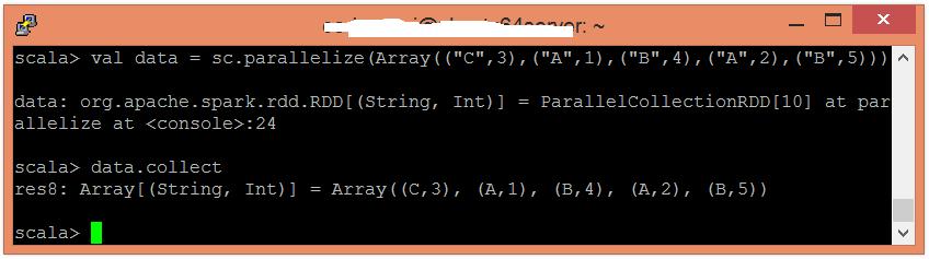 Spark reduceByKey函數