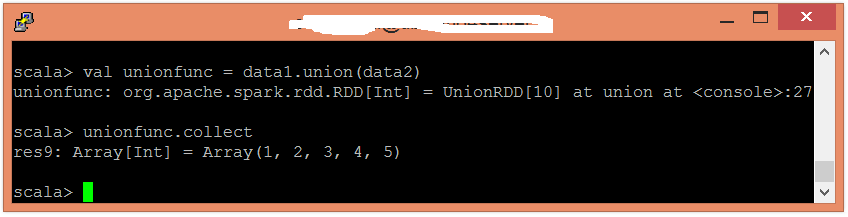 Spark Union函數