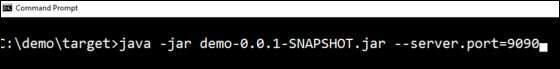 Spring Boot應用程序屬性