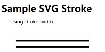 SVG stroke屬性