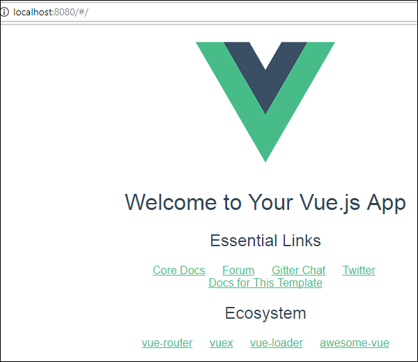VueJS環境設置