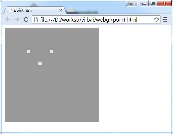 WebGL繪製點